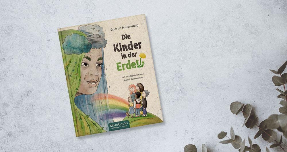Kinderbuch von Matabooks die Kinder in der Erde
